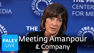 Meeting Amanpour & Company - On the Political Climate and Their New Series