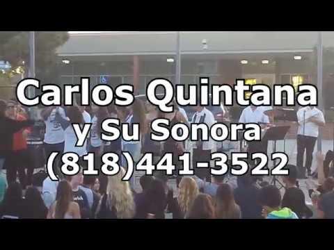 LATIN BAND IN LOS ANGELES - Vivir Mi Vida - CARLOS QUINTANA y Su Sonora