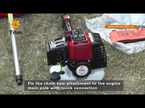 Zhejiang Titan Machinery Long Pole Chain Saw
