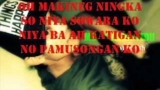 Kalu Kalu Bo Oh By :KhoMinie with lyrics