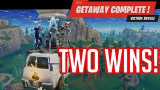 High Stakes! The Getaway! Zack Failing! - Fortnite: Battle Royale