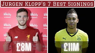 Jurgen Klopp's 7 Best Signings of All Time