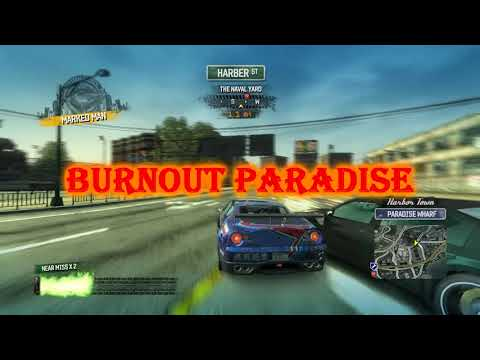 Burnout Paradise Pc Gameplay Of Survival Race Events With IKUSA GT Car, Takedowns, Crashes 2020