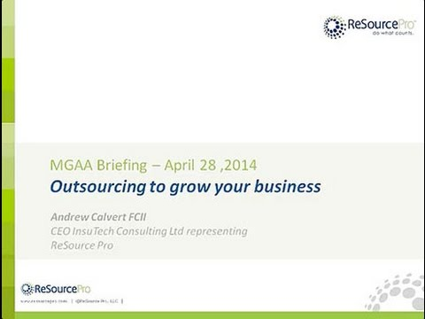 ReSource Pro (Europe): Outsourcing to grow your business