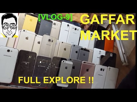 GAFFAR MARKET[Explore,Sting operation- mobiles,gadgets,new,second hand] DELHI ||gaurav sharma vlog-9