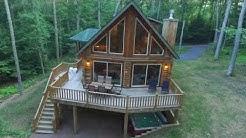 Good Time Pine - Luxury Log Home Vacation Rental at Deep Creek Lake Maryland