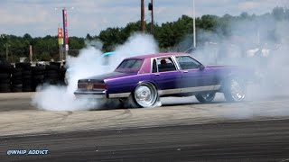 WhipAddict: Box Chevy Going Crazy on 28s!! Two-Tone Chevy Caprice Donuts, Burnouts