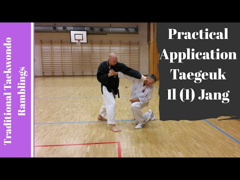 Practical Application Of Taegeuk Il Jang