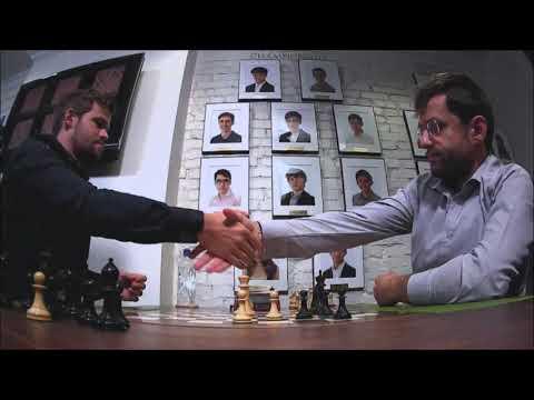 GM Carlsen (Norway) - GM Aronian (Armenia) 5 Min + PGN