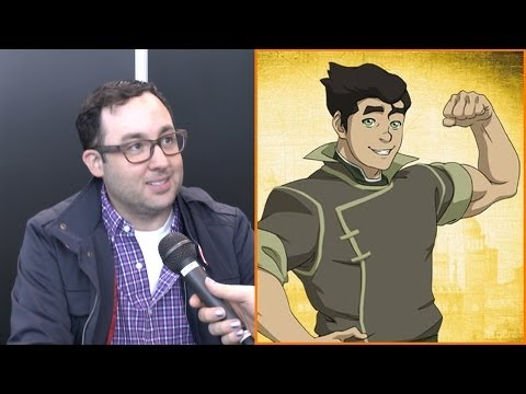 Legend of Korra's BOLIN   with Voice Actor PJ Byrne at NYCC 2013