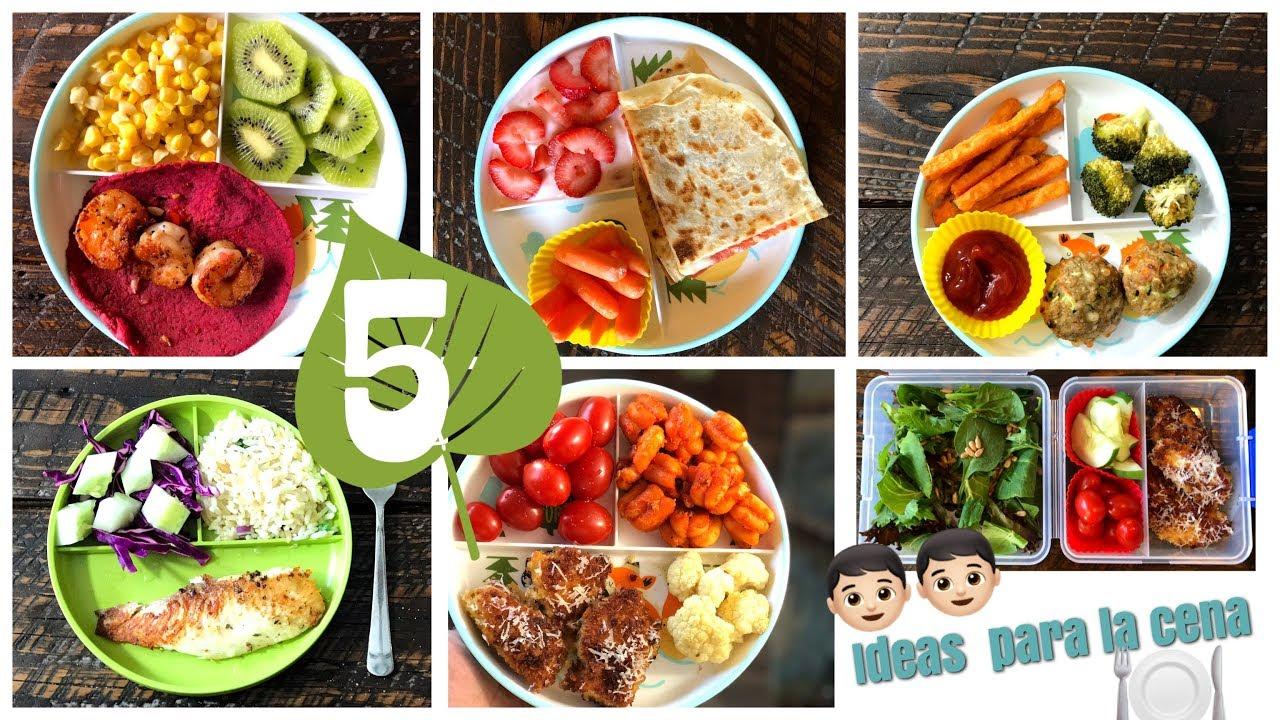 5 ideas f ciles para la cena 5 easy dinner ideas youtube - Ideas faciles para cenar ...