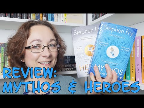 Book Review #150 - Mythos & Heroes By Stephen Fry