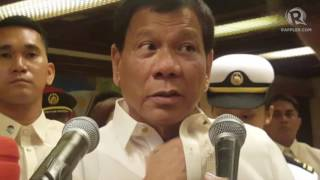 Duterte To Block Renewal Of ABS CBN Franchise