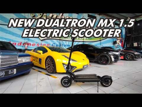 Unboxing Scooter Elecrric New Dualtron