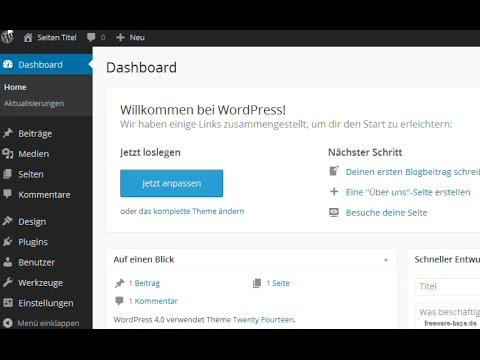 wordpress download german