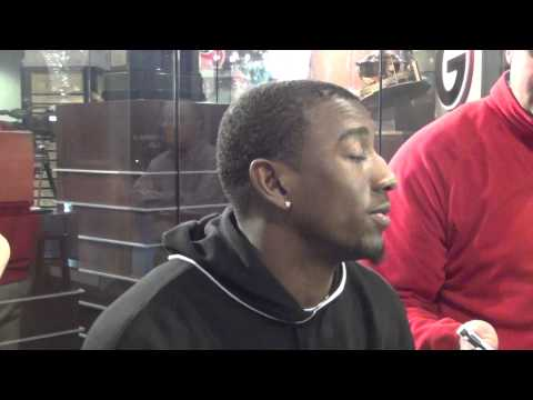 UGA Post Practice (12.18.14): Malcolm Mitchell