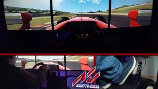 Assetto Corsa Test F1 - CaricaMente Simulatore Gameplay ita