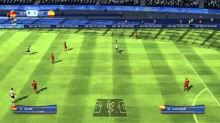 2014 FIFA World Cup Brasil Gameplay - Brazil vs Spain