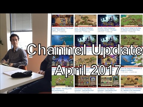 Channel Update: BIG NEWS! - April 2017
