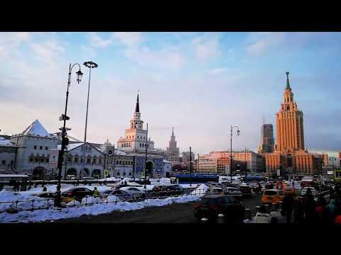 "Москва-Тверь на экспрессе ""Ласточка"" / Moscow-Tver On ""Lastochka"" High-speed Train."