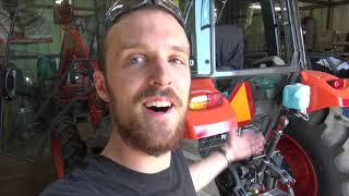How to install a Kubota rear hydraulic remote outlet on an M7060 with  ChuckE2009