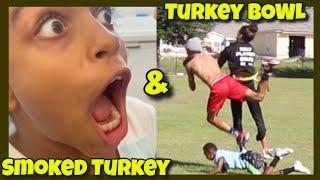 Turkey Bowl Football Legends Huge Thanksgiving Dinner