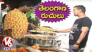 Bithiri Sathi Visits Telangana Food Festival At People's Plaza || Teenmaar News