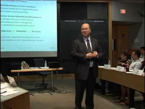 MIT 15.401 Finance Theory I, Fall 2008
