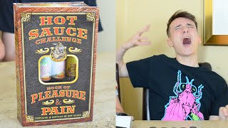 Hot Sauce Challenge: Book Of Pleasure and Pain | WheresMyChallenge