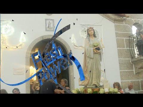 Procissão em honra a  Santa Cecília, Seixo de Manhoses - Vila Flor *2017*