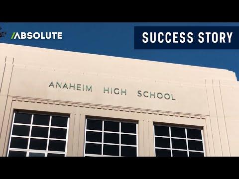 Anaheim High School District, Winner of the Absolute Trailblazer Award