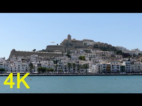 Ibiza Town / City / Spain (4K Ultra HD FZ300)