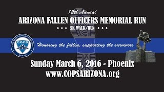 12th Annual Arizona Fallen Officer Memorial 5k
