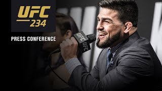 UFC 234: Pre-fight Press Conference