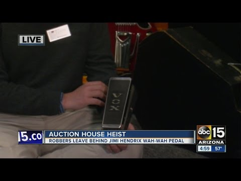 Thieves who robbed Scottsdale auction house overlooked $100 million prize