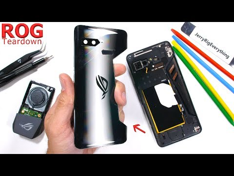Asus ROG Gaming Phone Teardown – Are the vents even real?