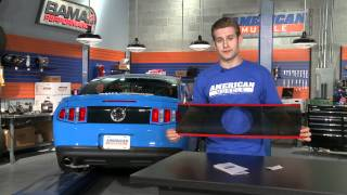 Mustang Deck Lid Blackout Panel (10-12 All) Review