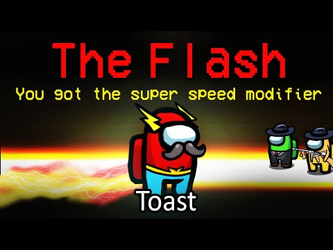 when the FLASH takes on the MAFIA in Among Us... (custom mod)