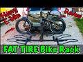 FAT TIRE Electric Bike Rack Review, Overdrive Sport 4, Best Heavy Ebike rack