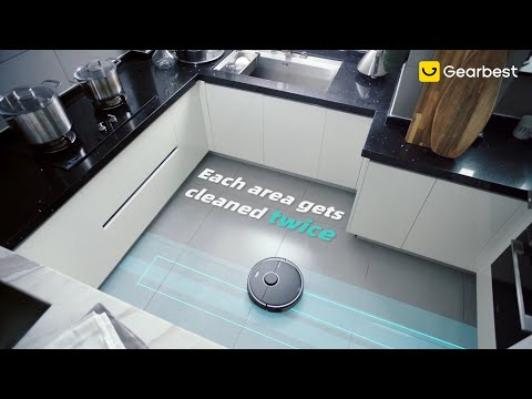 Roborock S5 Max Laser Navigation Robot Vacuum Cleaner(Black) - Gearbest