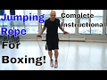 Skip Rope Instructional for Boxing ft. The Crossrope