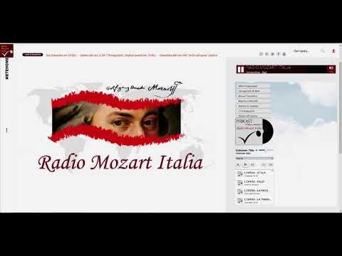 Gerard Drozd in conversazione con Radio Mozart Italia