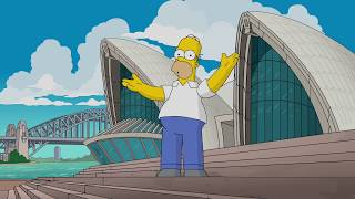 Homer Simpson vs. Sydney Opera House
