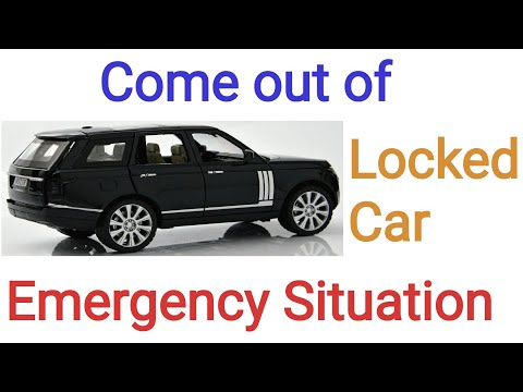 Come out of Locked Car in Emergency Situations | Commerce News Guruji