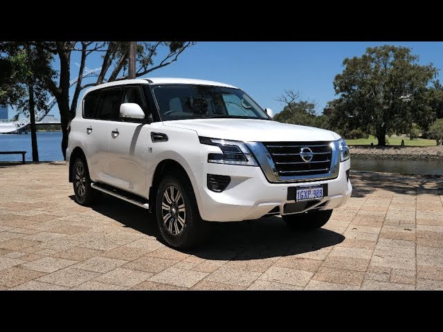Take the new Nissan Patrol for a Zoom Test Drive