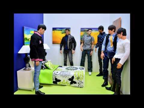 1/6 Scale Diorama Photo Story K-Pop Me E01 Korean Drama