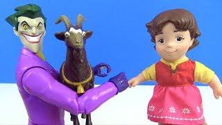 Joker keçileri kaçırıyor Heidi Peterin keçilerini bulabilecek mi? Heidi keçileri kaçırdı Malefiz kaç