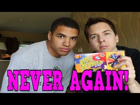 YOUTUBE CHALLENGE - I'M NEVER EATING JELLY BEANS AGAIN!