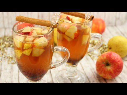 Apfel-Birnen-Punsch | Winterlicher Früchtepunsch ohne Alkohol | Kinderpunsch