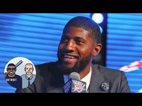 Paul George To Warriors A Realistic Possibility?   Jalen & Jacoby   ESPN